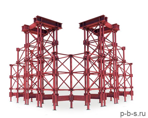 мостовые опорные подмости МОП ИПРС