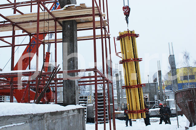 балочно-ригельная опалубка колонн Москва