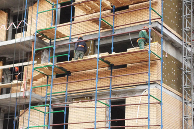 строительные леса аренда