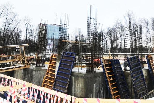 монолитная опалубка Парковый квартал Обнинск