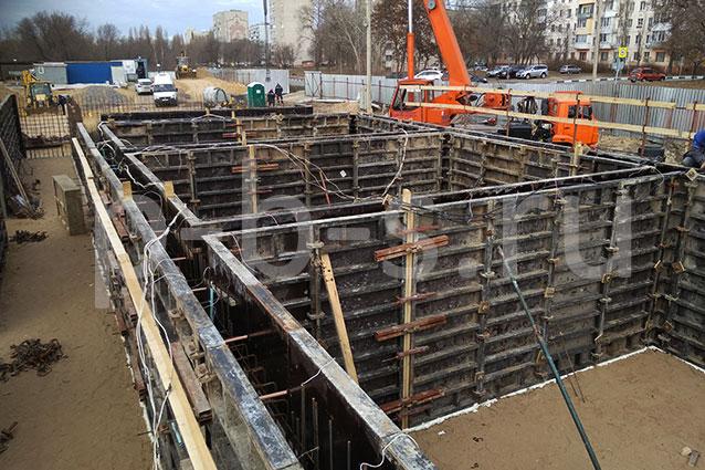 опалубка для фундамента Курская АЭС