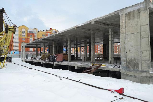 монолитная опалубка Парковый центр Обнинск