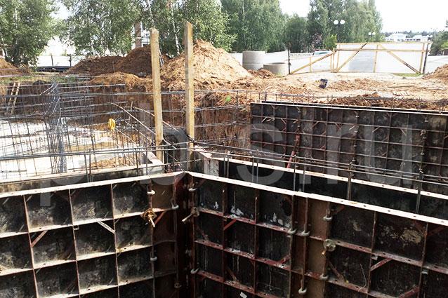 опалубка фундамента и стен Москва Успенка-21