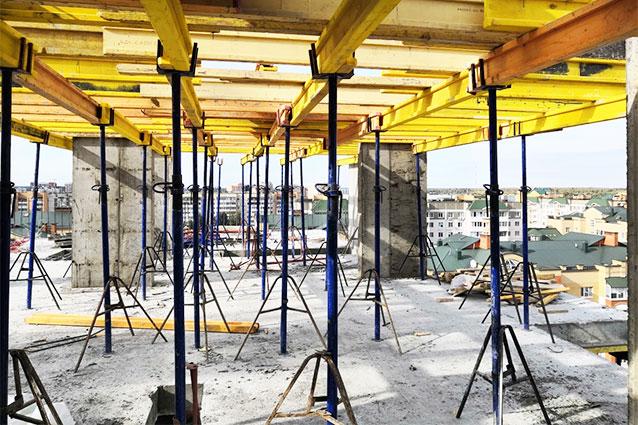 телескопические стойки для перекрытий Обнинск Парковый центр